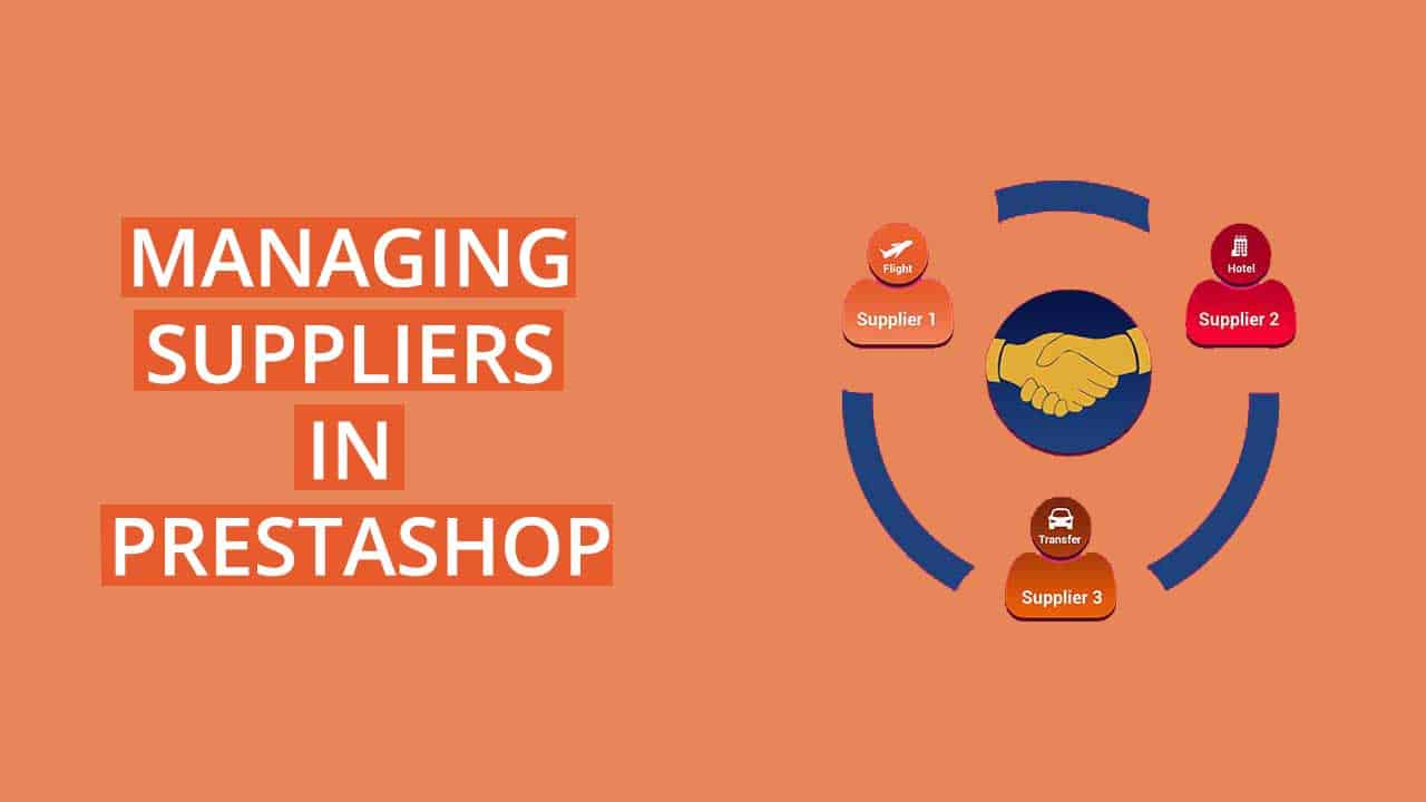 Managing Suppliers PrestaShop