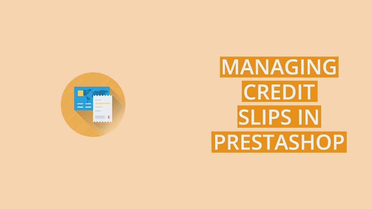 PrestaShop credit slip