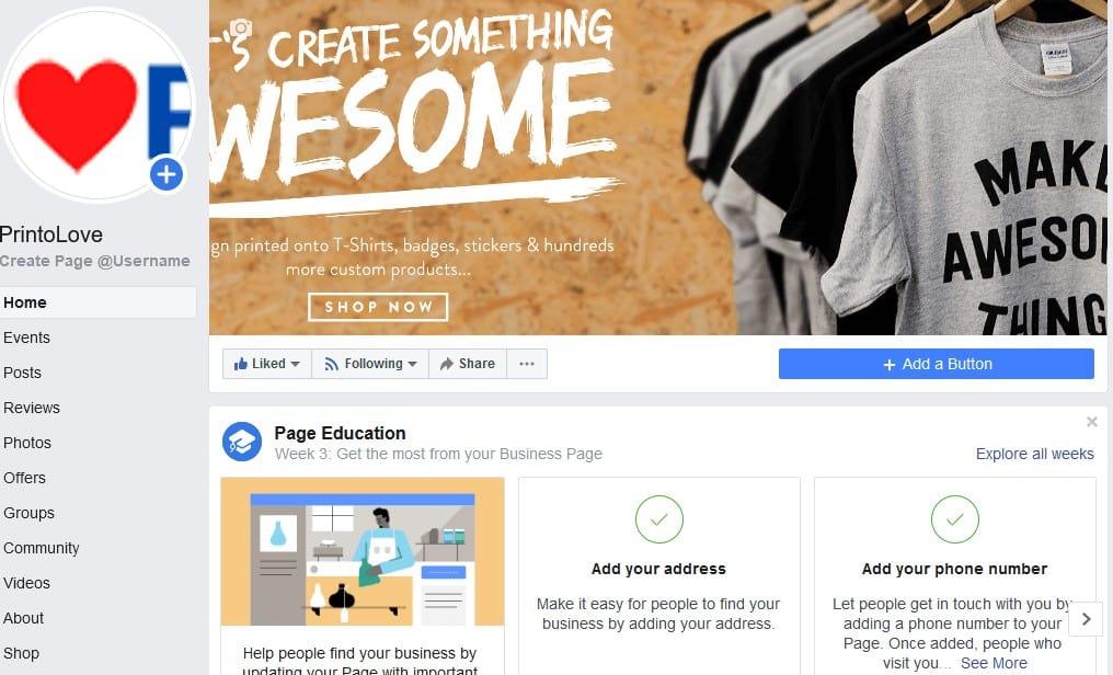 how to setup facebook shop
