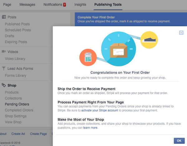 kh facebook shop manage orders