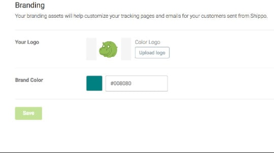 Packing list Branding Shippo 2