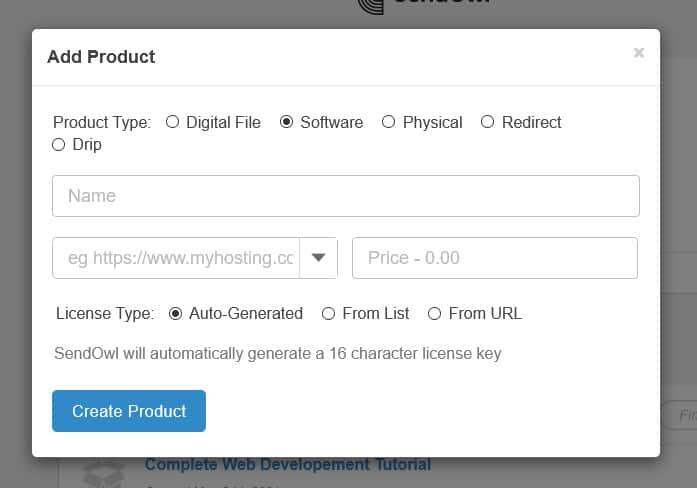 SendOwl add software