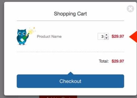 SendOwl add to cart page