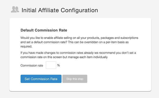 SendOwl affiliate commision rate