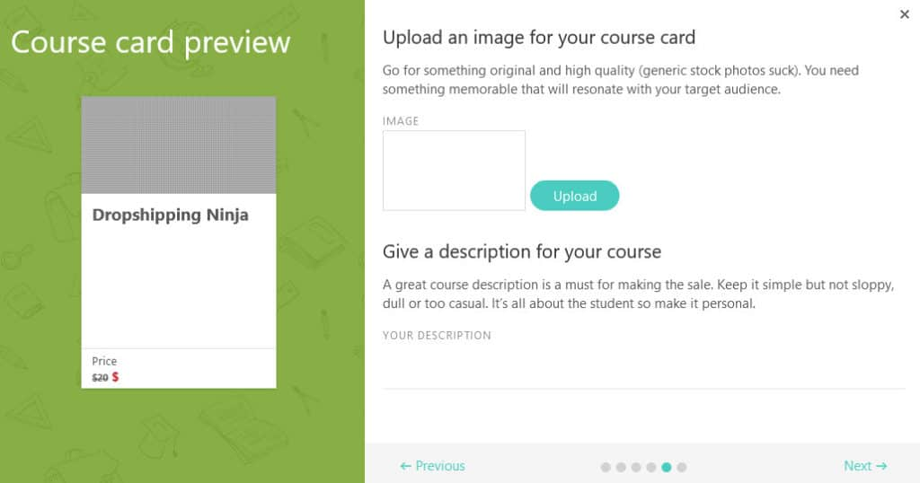 LearnWorlds course card preview